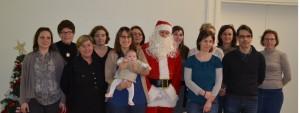 Salariés Tisserent Loudéac Noël