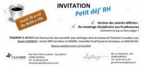 Invitation Petit Déj RH 28042016