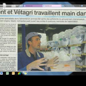 20150610 OF Vêtagri et Tisserent main dans la main