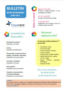 Tisserent-bulletin-inter-entreprises-juillet-2017