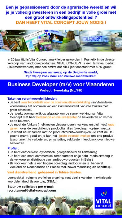 business developer voor vlaanderen