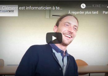 Clément est informaticien à temps partagé en Groupement d'Employeurs à Loudeac