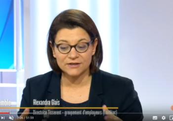 La directrice de Tisserent interviewée sur France 3 Bretagne