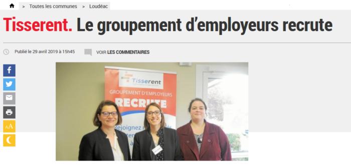 Article-LeTelegramme-Tisserent-29042019