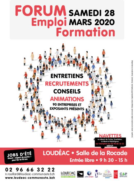 forum emploi formation  u00e0 loud u00e9ac