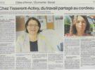 Ouest France parle des groupements Tisserent et Activy !